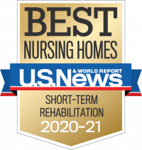 Touchpoints at Chestnut was chosen as one of the U.S. News Best Short Term Rehabilitation Nursing Homes of 2018-19, 2019-20 and 2020-21